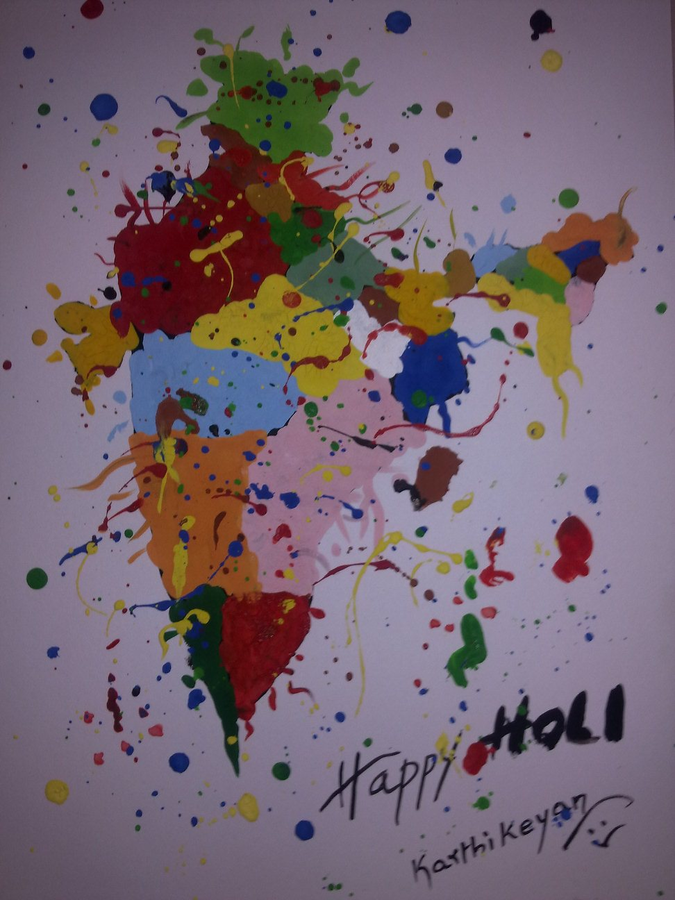 Holi Painting Competition Rumblings Of A Sp4ri